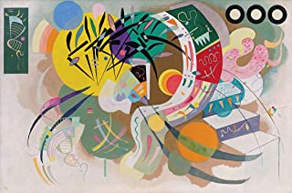 Gifts Delight Laminated 36x24 Poster: Wassily Kandinsky - Dominant Curve