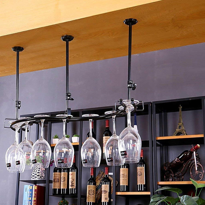 Red Wine Shelf Wine Glass Rack,Shelf Wine Glass Holder,Wine Glass Rack, Champagne Glass Rack,Glassware Rack Wine Rack,Goblet Glass Rack,Glassware Wine Rack, (color   White) (color   White, Size   -)
