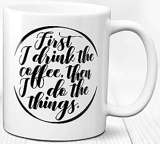 Taza de los amantes del café Taza de cerámica 330 ml Amo el regalo del tema del café