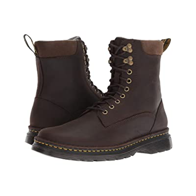 Dr. Martens Vincent Hook Robson (Dark Chocolate Muddy River Waterproof) Men