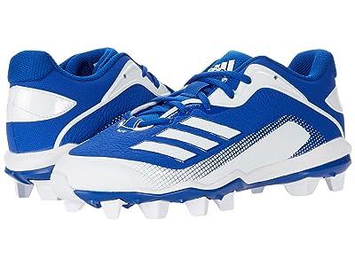 adidas Kids Baseball Icon 6 MD Baseball (Toddler/Little Kid/Big Kid) (Team Royal Blue/Footwear White) Kids Shoes