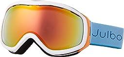 White/Orange/Turquoise with Zebra Light Photochromic Lens
