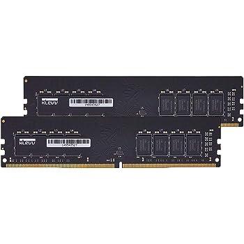 エッセンコアクレブ KLEVV デスクトップPC用 メモリ DDR4 2666 PC4-21300 8GB x 2枚 16GB キット 288pin SK hynix製 メモリチップ採用 KD48GU88C-26N1900JP