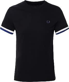 Men's Bold Tipped T-Shirt M7539 102 Black