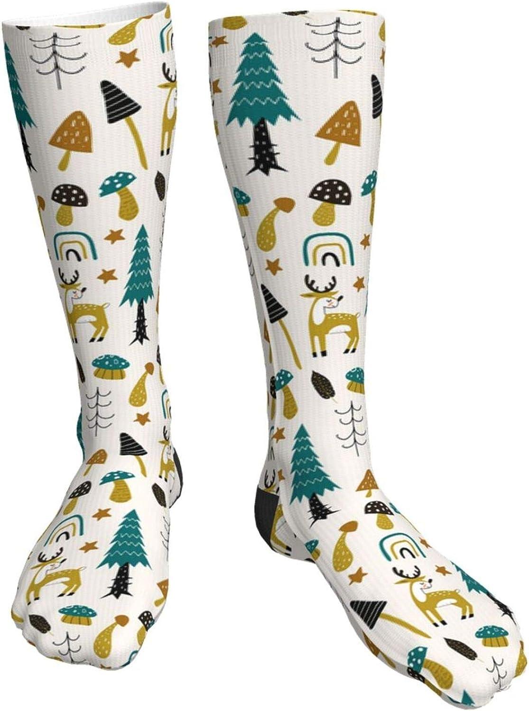 Double Gauze Elk Farm Unisex New Shipping Free Low price Crew Boy'S Casual Long Socks