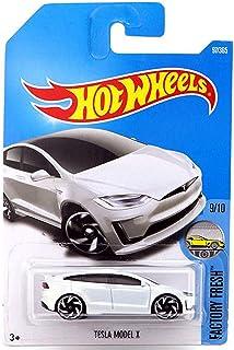 Hot Wheels 2017 Factory Fresh Tesla Model X 97/365, White
