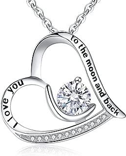 Women 925 Sterling Silver CZ Engraved