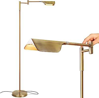 Adesso 4174 22 Hollywood Floor Lamp 58 Quot Satin Steel Amazon Com