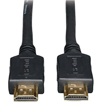 Tripp Lite High Speed HDMI Cable, Ultra HD 4K x 2K, Digital Video with Audio (M/M), Black, 12-ft. (P568-012)