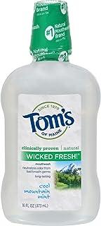 Tom's of Maine メインうがい薬WkdfrshミントMNのトムズ