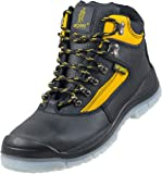 Leightweight Leather Men 's Boot Safety Work Boot with Steel Toe Cap Urgent 102 S1 TPU