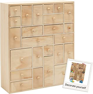 wooden tool storage