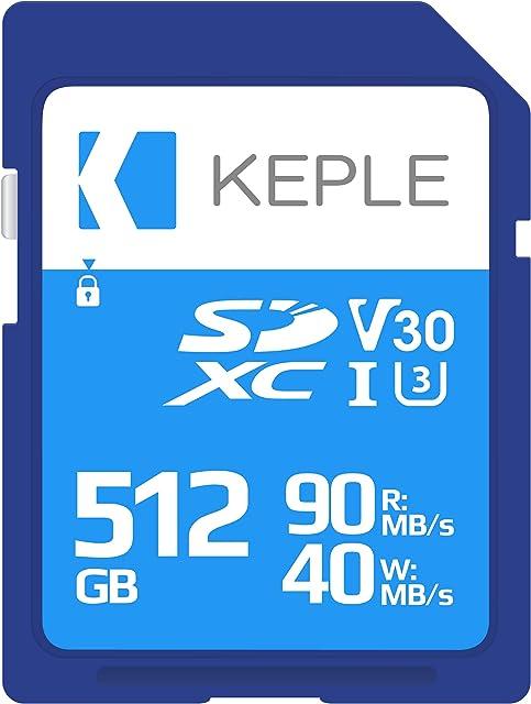 512GB Tarjeta SD Tarjeta de Memoria Alta Velocidad Compatible con Canon EOS 6D 77D 100D 200D 1100D 1500D 1200D 60D 1300D 800D 750D 760D 80D 4000D 3000D 5Ds 5DsR Cámara | 512 GB
