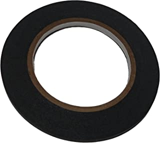 3 Rolls of Black Draping Tape, TO BE USED IN YOUR DESIGNS, EXCELLENT FOR YOUR DRESS FORM