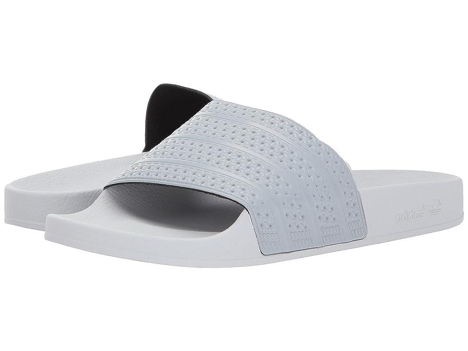 adidas Originals adilette (Mid Grey/Solid Grey) Men