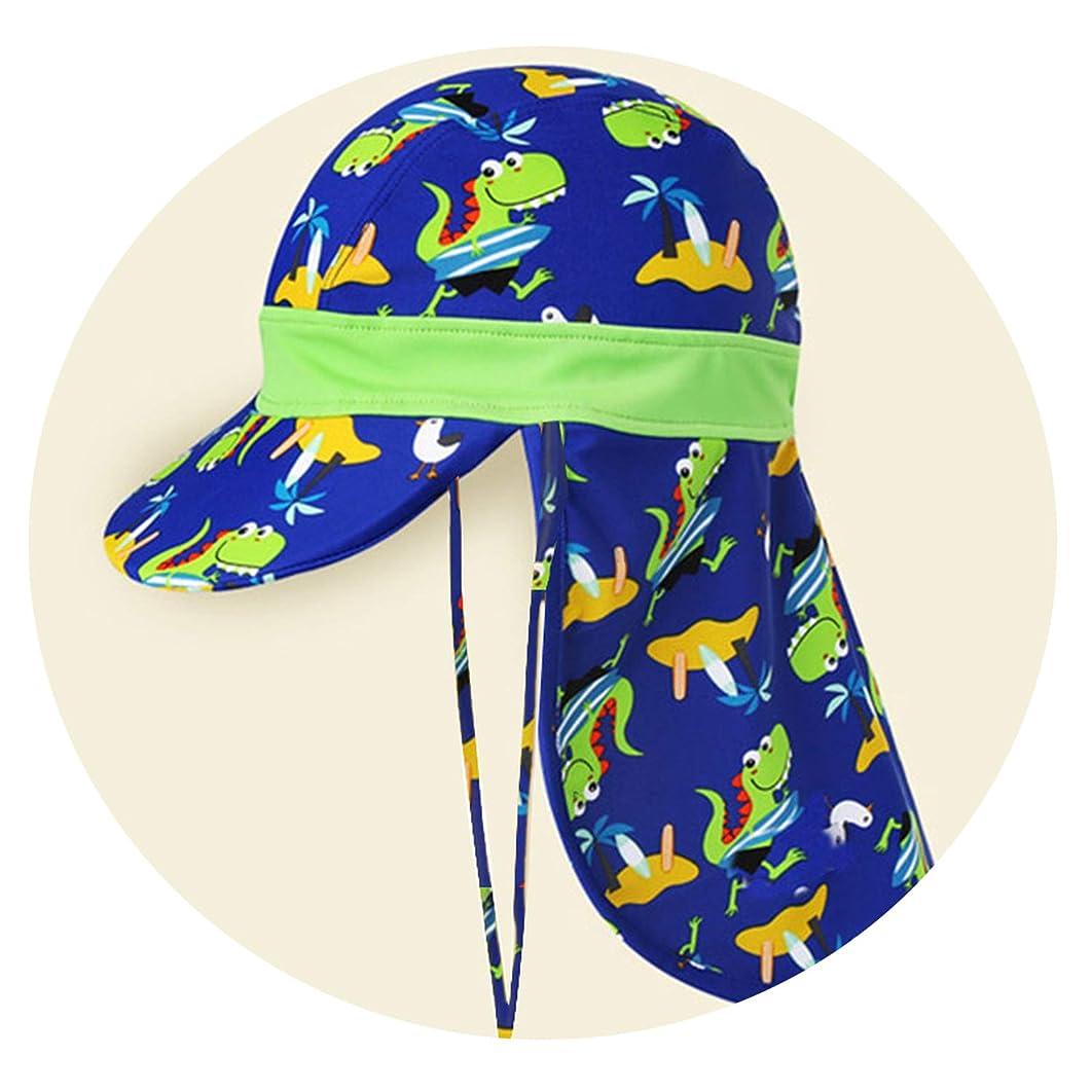 SPF 50+ Baby Sun Hat Adjustable Summer Baby Cap for Boys Travel Beach Swim Baby Cap