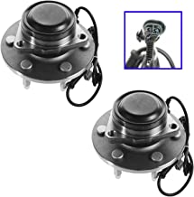 Front Wheel Bearing & Hub Assembly Pair for Chevy GMC Pickup Truck 2WD Van
