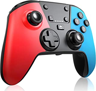 RegeMoudal Manette Switch, Manette de jeu rechargeable Bluetooth,Manette Switch sans Fil Convient pour Switch Pro / Switch...