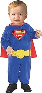 Superman Romper Costume With Removable Cape