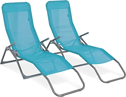 amazon.fr chaises longues