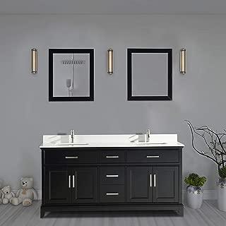 Best 72 in bathroom vanity Reviews