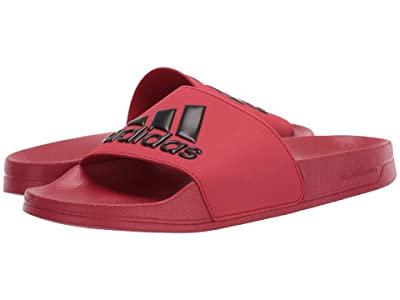 adidas Adilette Shower (Power Red/Core Black/Power Red) Men