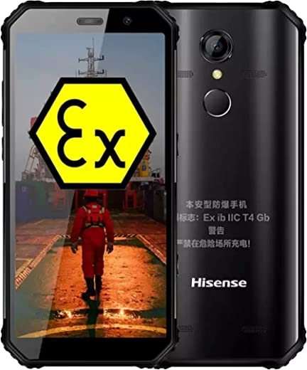 Hisense D6 Netcom 4G Explosion Proof Mobile Phone Chemical Plant, Intrinsically Safe, Dedicated NFC for Oil and Gas