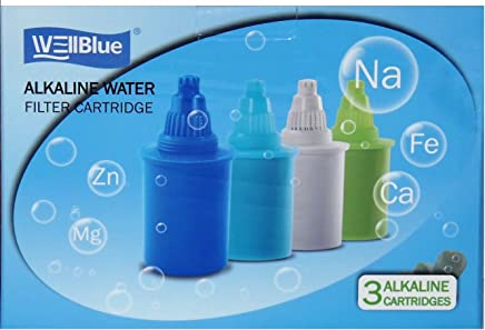 featured product WellBlue Alkaline Blue Water Replacement Filters