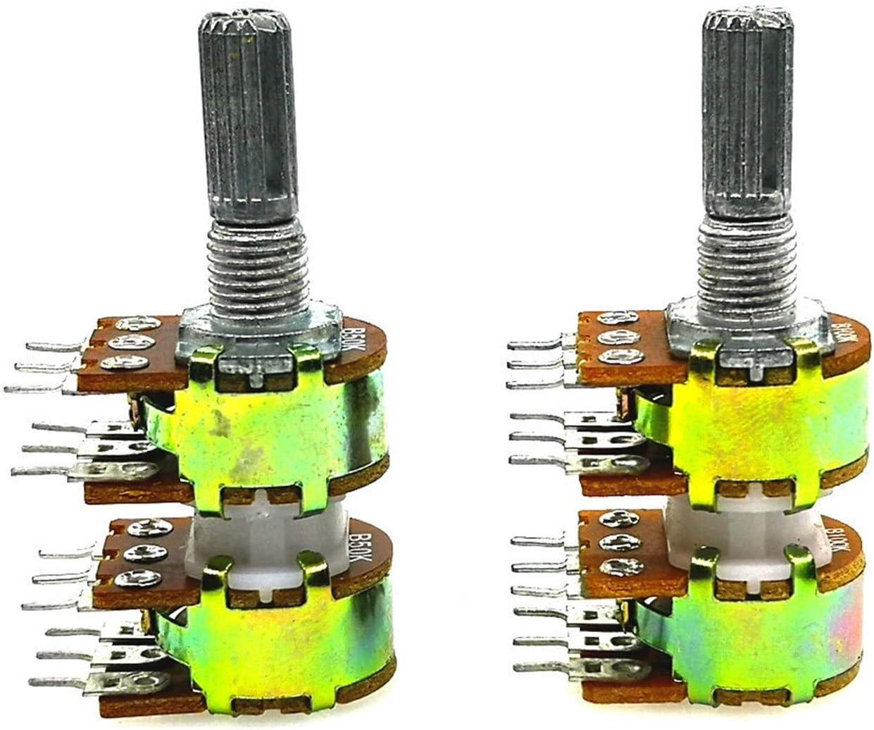 ZHENXKJ Superlatite Potentiometer 1PCS B50K B100K 20MM DIP12 New Long Beach Mall WH148 Audio