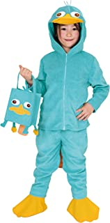 Phineas and Ferb Costume - Perry Child Costume - Medium Size