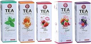 TEEKANNE Tealounge Früchtetee Kapseln, 80 Kapsel - 5 Sorten 5 x 16 Stück Teekapsel Tee Caps