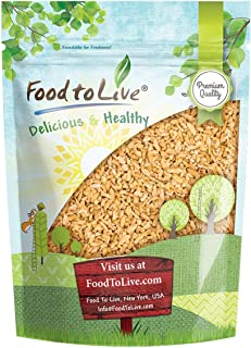 Cracked Freekeh, 3 Pounds — Whole Grain, Vegan, Roasted Green Wheat, Healthy Ancient Supergrain Farik, High in Protein and Dietary Fiber, Bulk Frikeh, Product of the USA