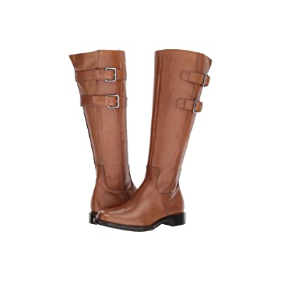 ECCO Shape 25 Tall Buckle (Camel Calf Leather) Women