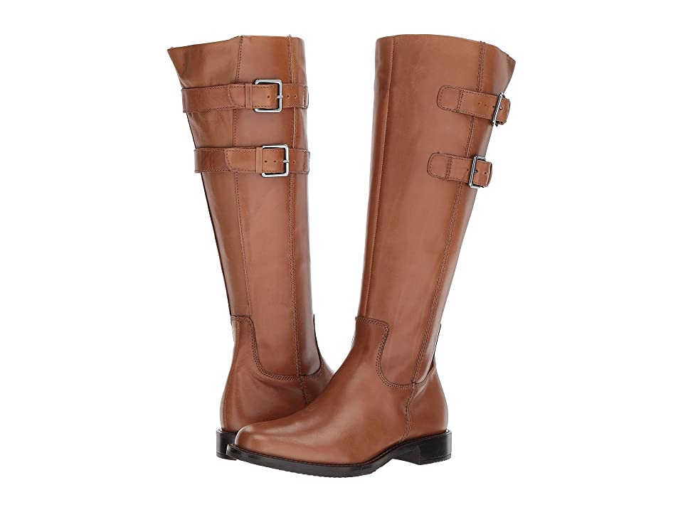 ECCO Shape 25 Tall Buckle (Camel Calf Leather) Women