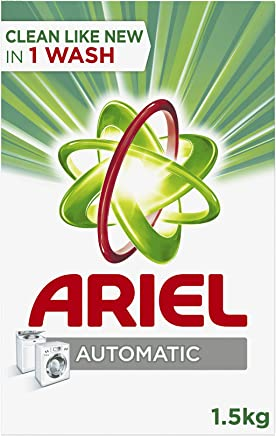 Ariel Automatic Laundry Powder Detergent Original Scent 1.5 kg, Pack of 1