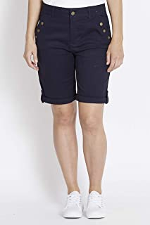Rockmans Stud Slant Pocket Short - Womens
