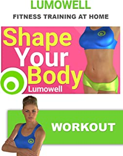Shape Your Body Workout: Cardio + Leg, Butt, ABS and Arm Exercises + Stretching