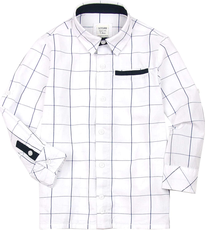 Losan Boys Plaid Dress Shirt, Sizes 2-7