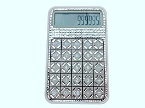 $40 » blingustyle Sparkly Crystal square silver 12 Digits Calculator home/office gift