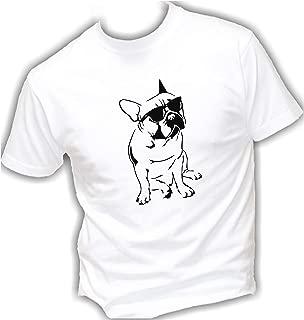 Bulldog Francese DJ Felpa Maglione Uomo-Divertente Regalo Cane