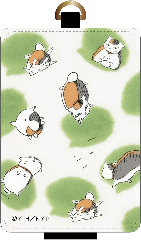 Gourmandise Natsume's Book of Friends IC card case Nyanko sensei   flyers pattern nyc-03b