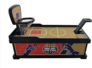 Playmaker Toys Bank Shot Coin Shooting Basketball Coin Bank