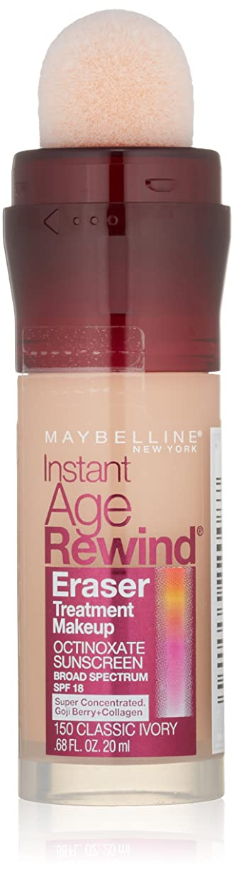 盲目野なかんがいMAYBELLINE Instant Age Rewind Eraser Treatment Makeup - Classic Ivory (並行輸入品)
