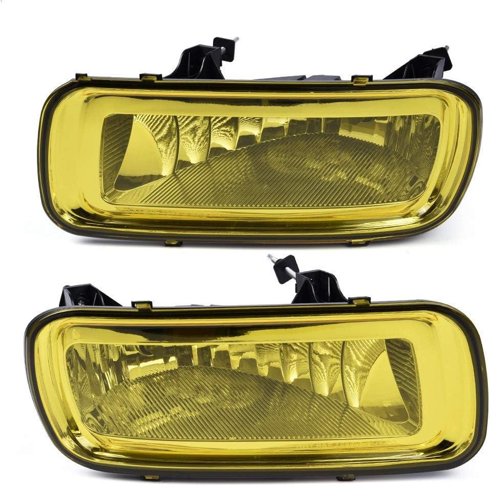 Pair Bumper Driving Fog Cheap sale Lights Bulbs Replacement F Ranking TOP15 Assemblies W