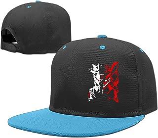 Naruto Kyuubi Nine Tails Face Boys Brim Rock Punk Vintage Snapbacks Caps