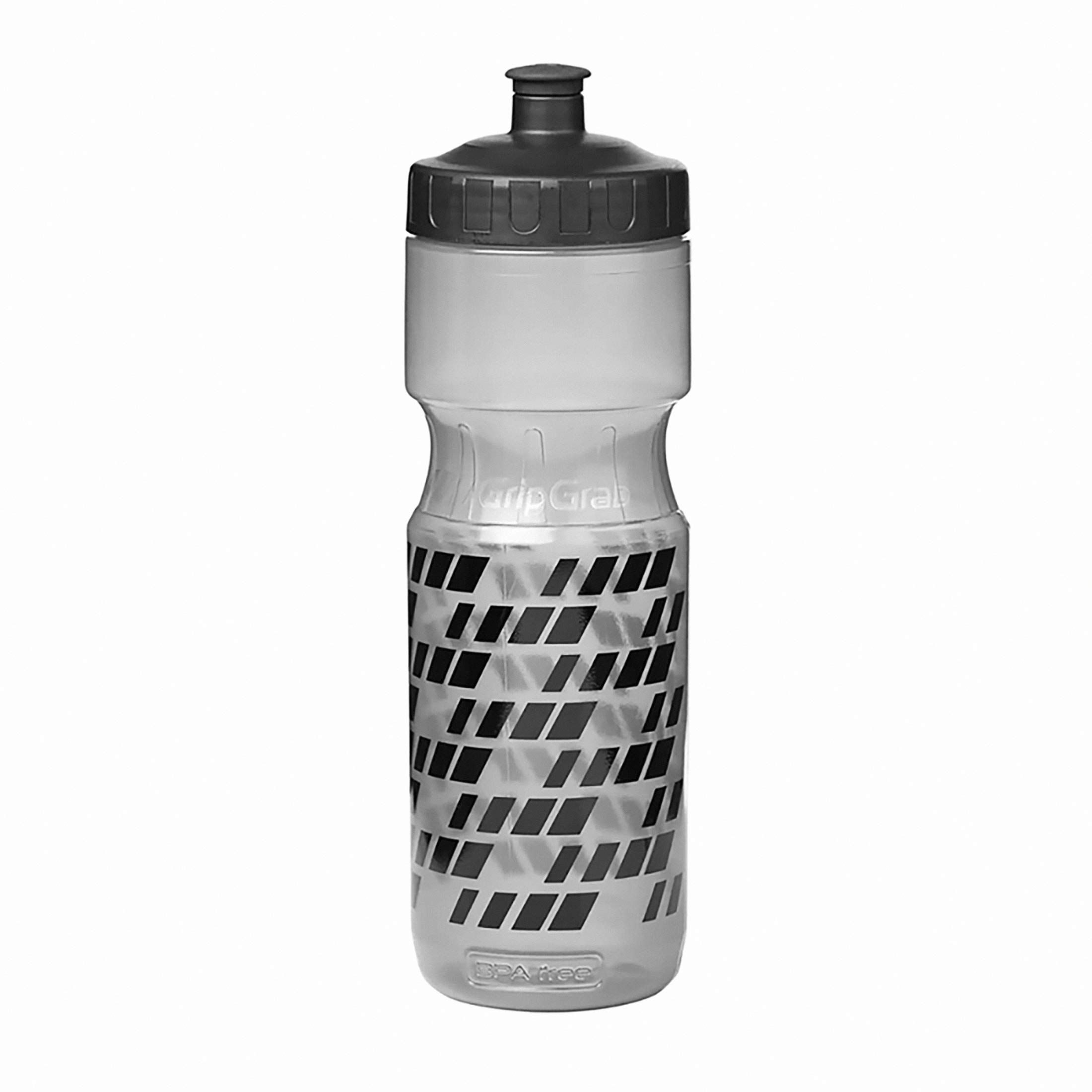 GripGrab BPA-freie Fahrrad Trinkflasche, Schwarz, 600 ml