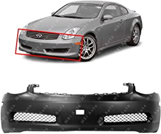03 infiniti g35 coupe front bumper