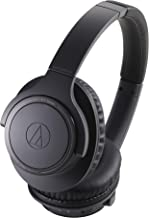 Audio-Technica ATH-SR30BTBK Bluetooth Wireless Over-Ear Headphones, Charcoal Gray