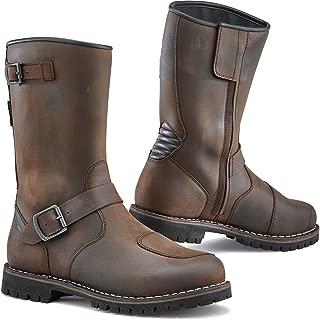 TCX 7096 Fuel Waterproof Mens Street Motorcycle Boots - Vintage Brown Size Eu 45 / Us 11