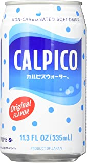 Calpico Original Soft Drink in Can, 11.3-Ounce (Pack of 8)